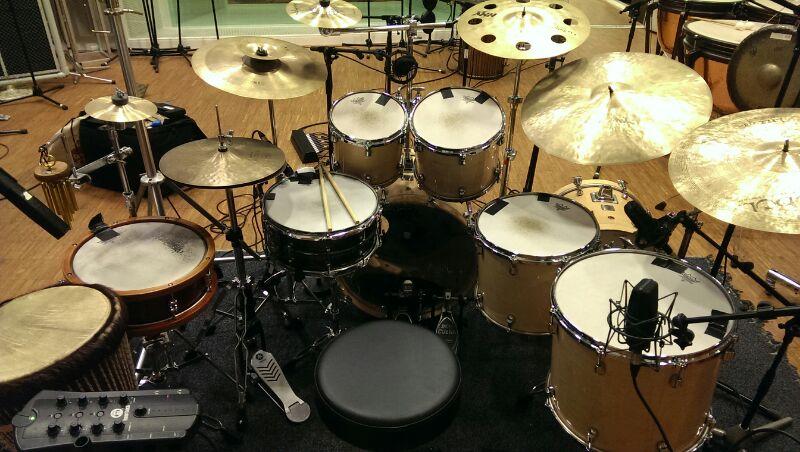 Drumstel Daniel van Dalen